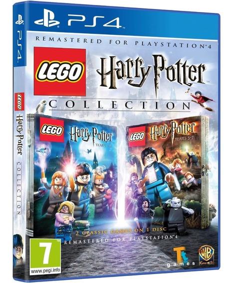 Game Lego Harry Potter Collection Ps4 Midia Fisica Lacrado