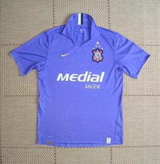 Camisa Original Corinthians 2008 Third #10 Roxa