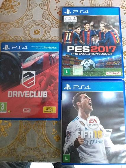 Drive Club Fifa 18 Pes 17 Combo 3
