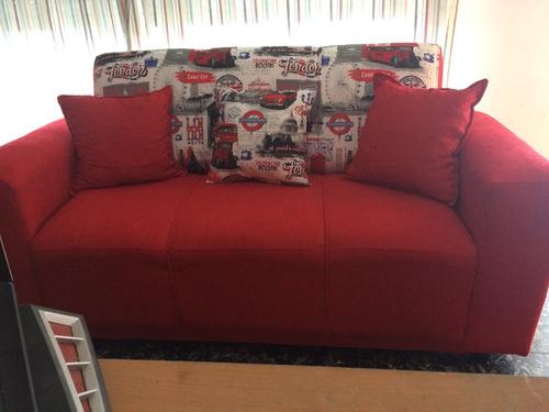 Juego De Living Sofa 3+2