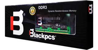 Blackpcs Udimm Ddr3 Memoria Ram 8gb 1600mhz Md11601-8