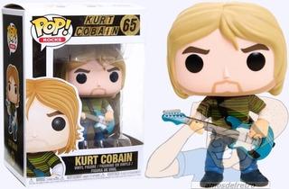 Figura Kurt Cobain Nirvana Funko Pop Nuevo En Caja
