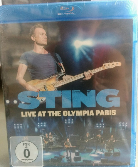 Blu-ray Sting - Live At The Olympia - Paris