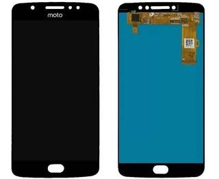 Frontal Display Lcd Touch Moto E4 Plus Xt1770 Xt1773 Preto