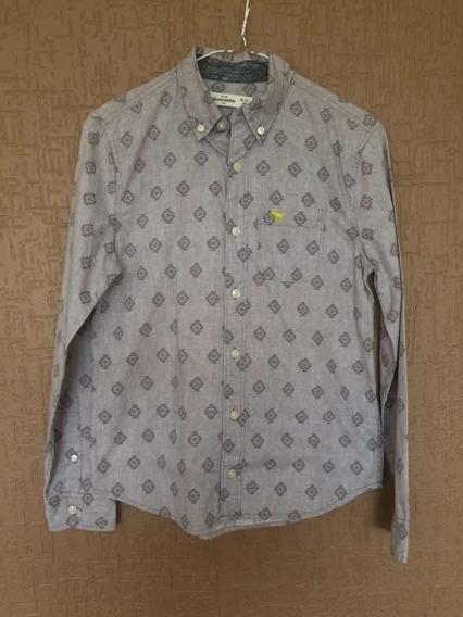Camisa Manga Larga Abercrombie (kids) Para Niño Talla 12