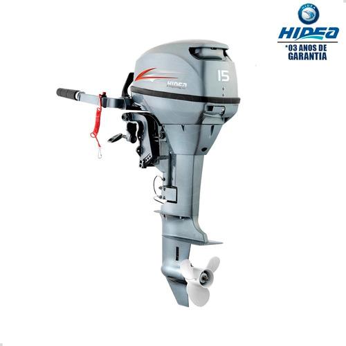 Motor De Popa Hidea 2 Tempos 15hp Fhs Pessoa Física