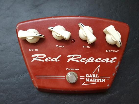 Pedal Carl Martin Red Repeat Delay Analógico - Troco