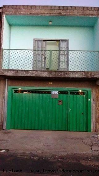 Casa Para Venda Em São Carlos, Vila Santa Madre Cabrini, 3 Dormitórios, 2 Suítes, 3 Banheiros, 1 Vaga - Lc311
