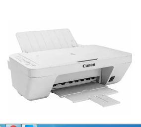 Impressora Multifuncional Branca Canon Pixma Mg2410 Sem Ca