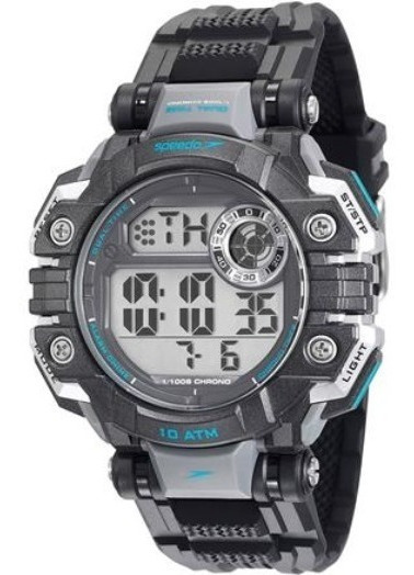 Relógio Speedo 80624g0evnp1 Digital Gande Pulso