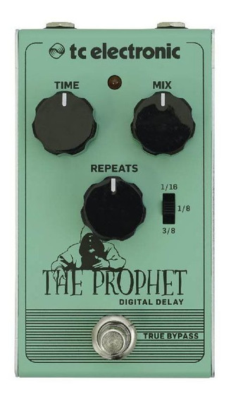 Pedal Para Guitarra The Prophet Digital Delay Tc Electronic