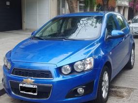 Chevrolet Sonic 1.6 Ltz Full 5 Ptas 2013 1ª Mano Excelente!