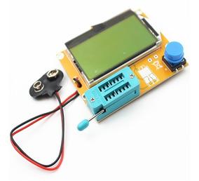 Testador Identificador Mega328 Diodo Capacitor Transistor