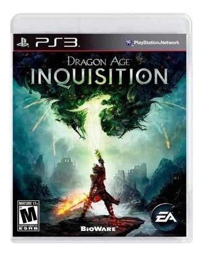 Jogo Dragon Age Inquisition Ps3 Mídia Física Tórra Estoque