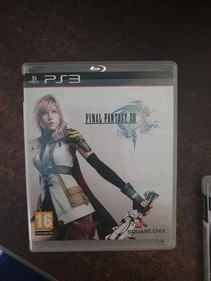 Final Fantasy Xiii Ps3 - Midia Fisica