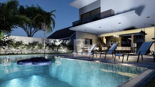 Imagem 1 de 12 de Maravilhosa Casa No Alphaville, Com 4 Suítes À Venda, 340 M² Por R$ 2.100.000 - Bonfim Paulista - Ribeirão Preto/sp - Ca0812