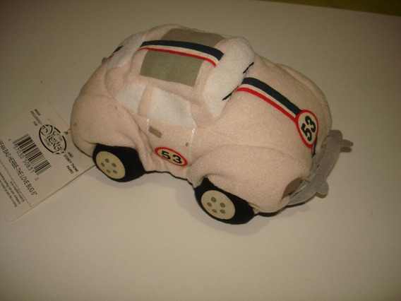 Vw Fusca Herbie Original Disney Pelucia