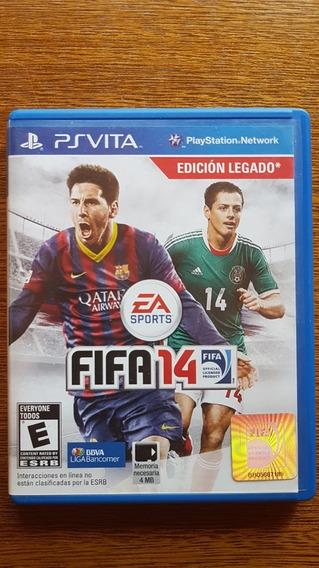 Fifa 14 Game Futebol Ps Vita Original Conservado Barato