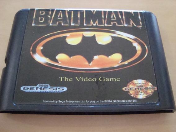 Jogo Batman Mega Drive Leia O Anuncio