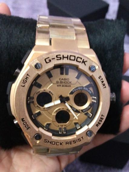 Relogio G Shock Dourado - 1 Linha