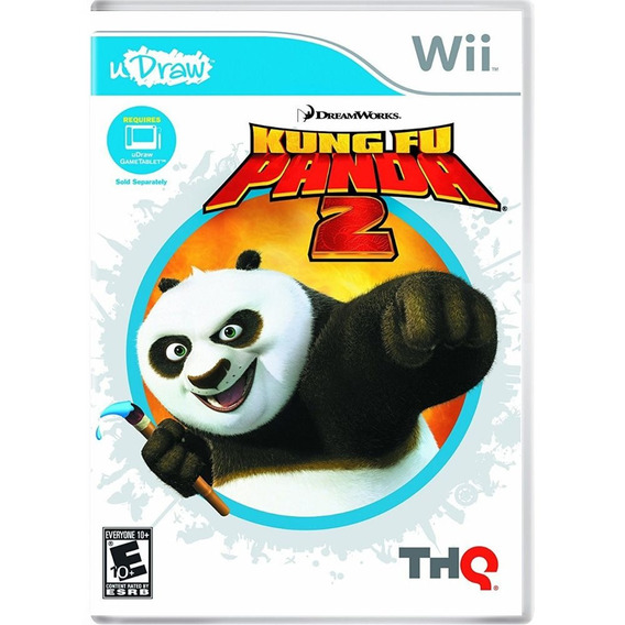 Jogo Kung Fu Panda 2 Necessario Uso Udraw Para Nintendo Wii