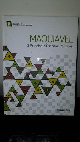 Livro - Maquiavel - O Princípe E Escritos Políticos