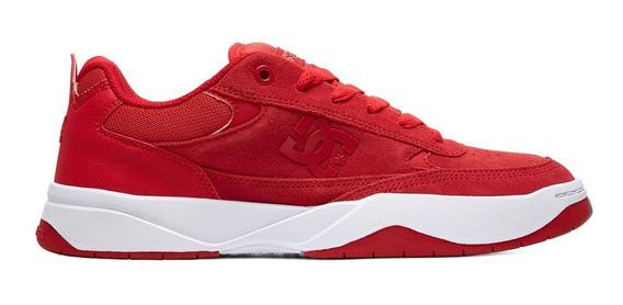 Tenis Skate Dc Shoes Penza Red De Hombre Originales 100%