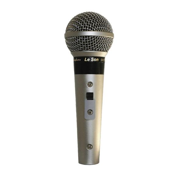 Microfone Leson Sm 58 P4 Vocal Profissional Novo Nota Fiscal