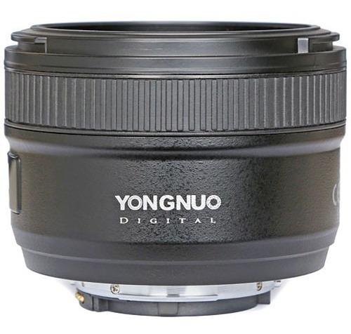 Lente Yongnuo Yn 50mm F1.8 Para Nikon