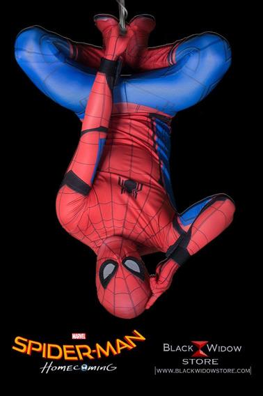 Traje Suit Spiderman Homecoming Amazing Black Widow Store