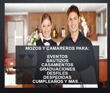 Eventos Servicio Mozos Camareras Parrilleros Barman