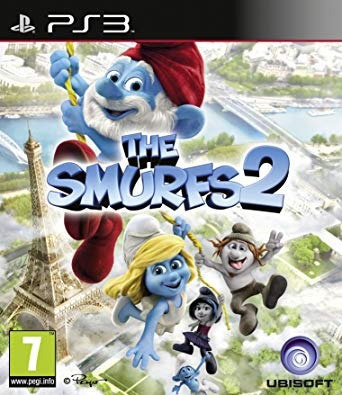 Jogo Ps3 The Smurfs 2 Midia Digital