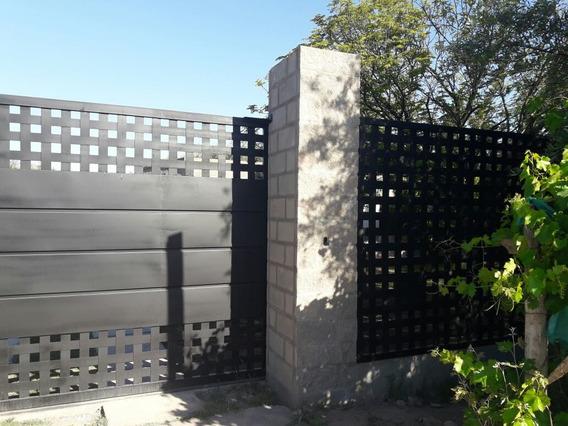 Lote Con 2 Casas (obra Gruesa), Frutales, Olivos, Pileta