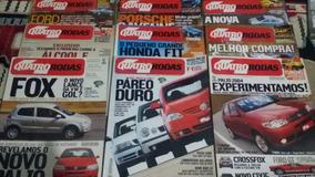 Revistas Quatro Rodas Ano 2003, Mês 1,2,3,4,5,6,10,11,12