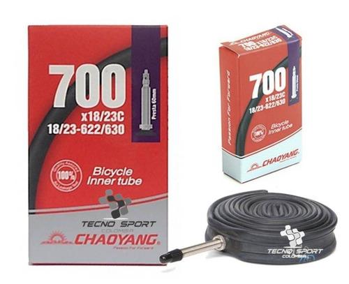 Neumático Chaoyang 700 X 23 Válvula 60mm Bicicleta Ruta