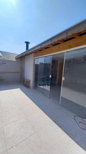 Cobertura Com 3 Dormitórios À Venda, 130 M² Por R$ 555.000,00 - Vila Curuçá - Santo André/sp - Co0478
