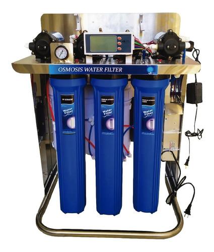 Filtro De Agua Ósmosis Inversa 1600 Gpd 4 Etapas Purificador