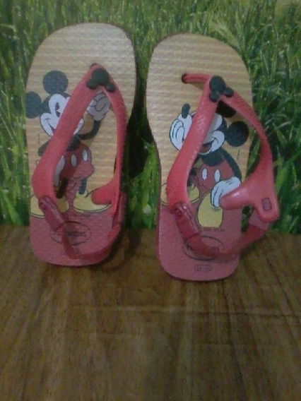 Sandália Infantil Havaianas Mickey