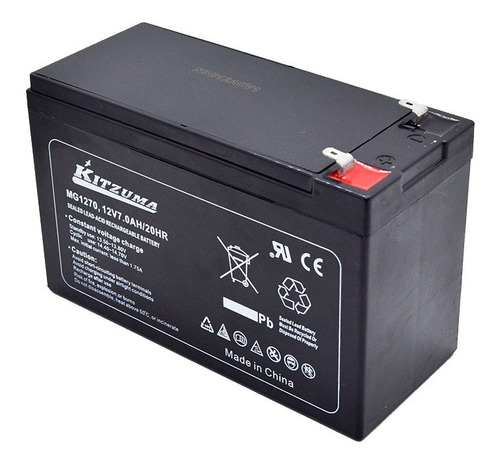 Bateria Para Alarmas 12v7ah