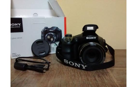 Camara Sony Dsc H300 Negra