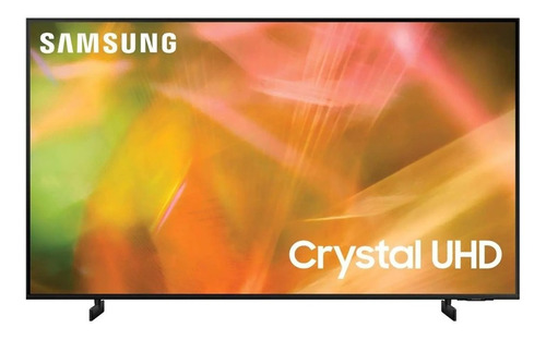 Imagen 1 de 4 de Televisión Samsung Crystal Smart Tv Led60in Ultrahd 4k Negro