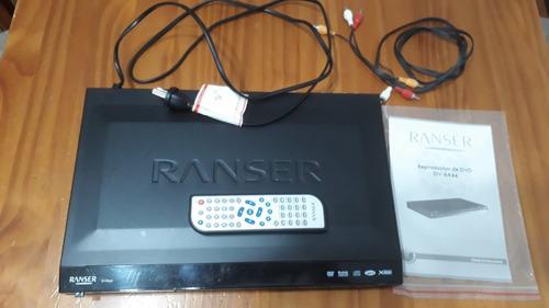 Reproductor De Dvd Ranser - Dv-ra44