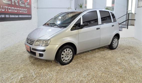 Fiat Idea Elx 1.4 Mpl 8v Gris Nafta 2010 En Muy Buen Estado!