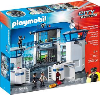 Playmobil Cuartel General De Policía Con Prisión