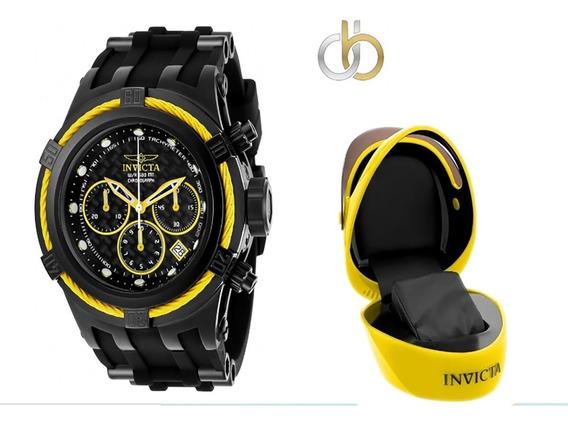 Relógio Invicta Bolt Zeus 22451 Original Swiss + Caixa Capac