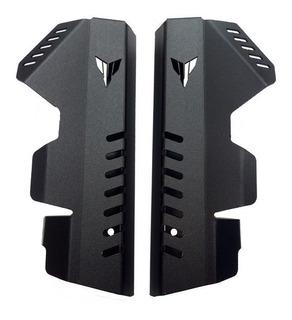 Protectores Laterales Radiador Aluminio Fz07 Mt07 Yamaha Cnc