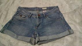 Shorts Jeans H& M Tamanho M
