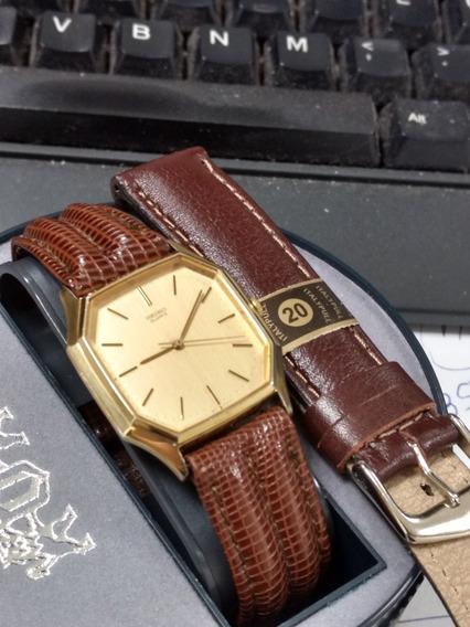 Relógio Seiko Banhado A Ouro!!