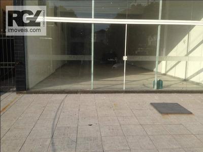 Loja Comercial Para Locação, Aparecida, Santos. - Lo0047