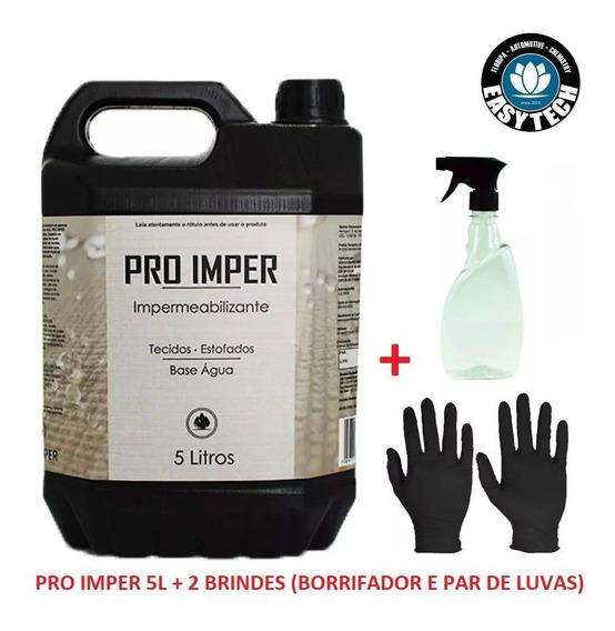 Impermeabilizante Sofá Tecido Pro Imper 5l Easytech + 2 Brin